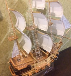 Корабль модель (кедр)