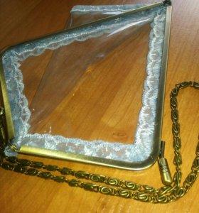 Чехол прозрачный для телефона или очков