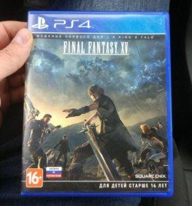 Final Fantasy 15  игра ps4