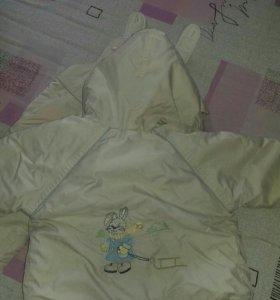 Детский комбинезон с курточкой