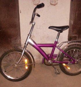 Велосипед детский Inovatrack колеса 16 дюймов
