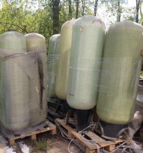Корпуса фильтров, водонакопительная колонна