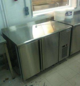 Холодильные столы из нержавейки б/у