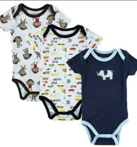 Набор из 3-х боди для малышей