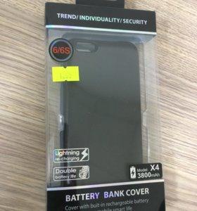 Чехол АКБ iPhone 6,6s,3800mAh