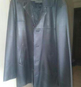 Куртка кожанная летняя 48-50р турция