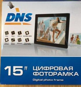 Цифровая фоторамка DNS