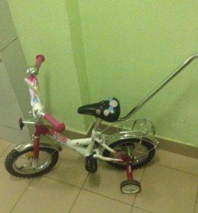 Новый велосипед детский stels