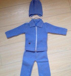 костюм вязаный
