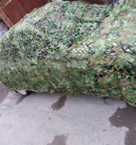 Маскировочная сетка 4м*2м (лес)