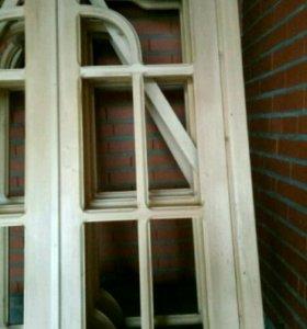 Двери межкомнатные, 3 шт.
