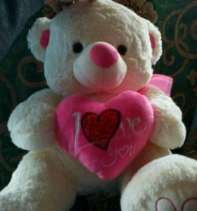 Игрушка Медведь (I love you )