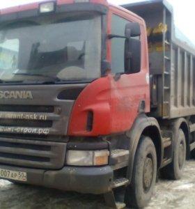 Самосвал Scania P380 8x4 2011