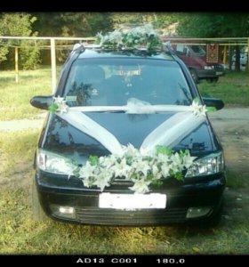 Машина с водителем на свадьбу.