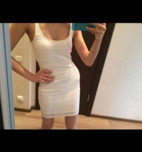 Кружевное Платье Bershka