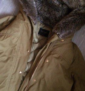 Куртка - жилетка с мехом