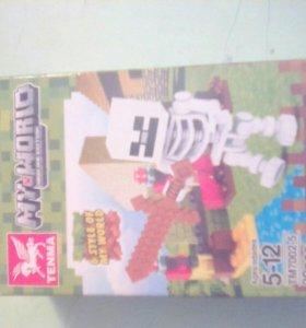 LEGO MINECRAFT скилет