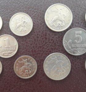 Монеты Копейки России