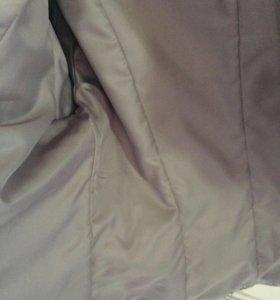 Куртка,натуральная кожа48-50р.сост.новой,мех натур