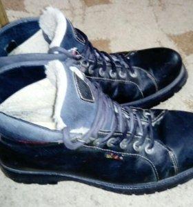 Мужские ботинки, зима, размер43
