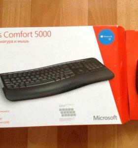 Клавиатура+мышь+флешка новые