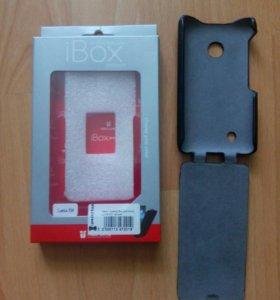 Чехол-книжка для Nokia Lumia 530 + задняя крышка