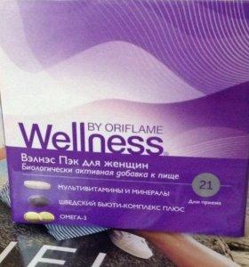 Wellness вэлнэс Пэк для женщин бад к пище