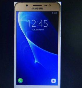 Смартфон Samsung Galaxy J5 (2016) (золотистый)