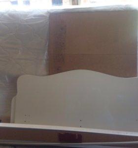 Двухспальный кровать длина 2 м, ширина 1,5 м ,