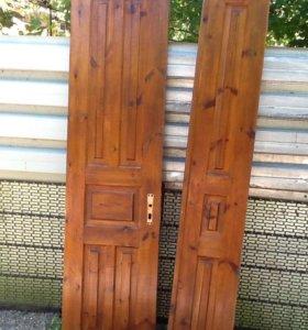 Дверь двойная распашная