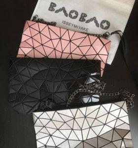 Issey Miyake Bao Bao трендовые сумочки.3 цвета