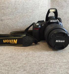 Kit Nikon D3100 18-55 mm F/3.5-5.6G AF-P Black