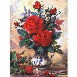 💎 алмазная мозаика- букет роз