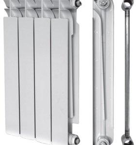 Биметаллическая батарея 4 секции