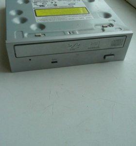 DVD/CD привод пишущих.
