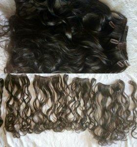 Иск.волосы на заколках