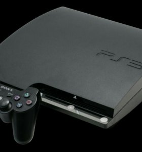PlayStation 3 + 2 джостика + 10 игр