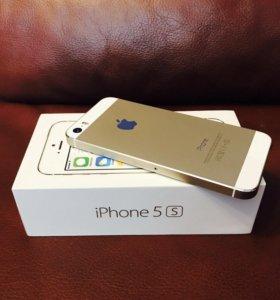 Продам айфон 5s gold на 16gb