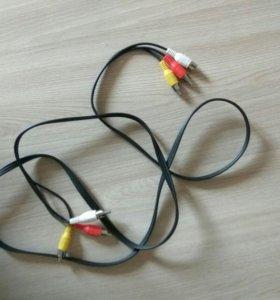 Кабели аудио,видео RCA-RCA, RCA-3.5 mm jack