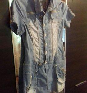 Платье джинс.