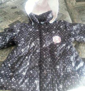 Куртка на девочку 2-4 года.