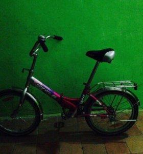 Велосипед складной детский stels pilot 310