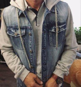 Новые мужские джинсовки