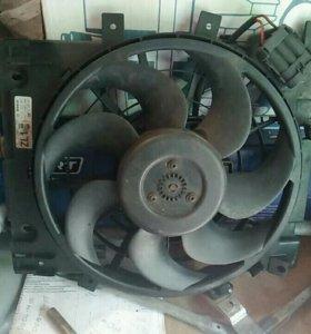 Вентилятор кондиционера Opel Astra h GTC