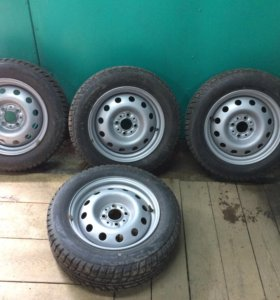 Зимние колёса в сборе для Лада- Приора