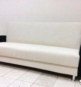 000122 новый диван книжка мешковина от фабрики