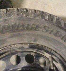 Зимние колеса в комплекте с дисками и колпаками