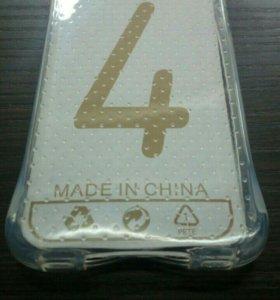 iPhone 4/4s силиконовый чехол противоударный