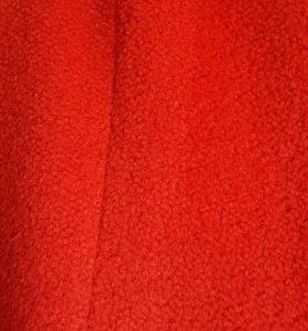 Пальто шерстяное р.48-50