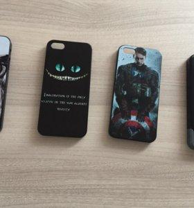 Чехлы на IPhone 5/5s/5se пластик